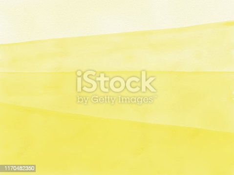 istock Watercolor Yellow Gradient Abstract Background. Design Element for Marketing, Advertising and Presentation. Can be used as wallpaper, web page background, web banners. 1170482350