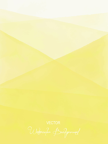Watercolor Yellow Gradient Abstract Background. Design Element for Marketing, Advertising and Presentation. Can be used as wallpaper, web page background, web banners.