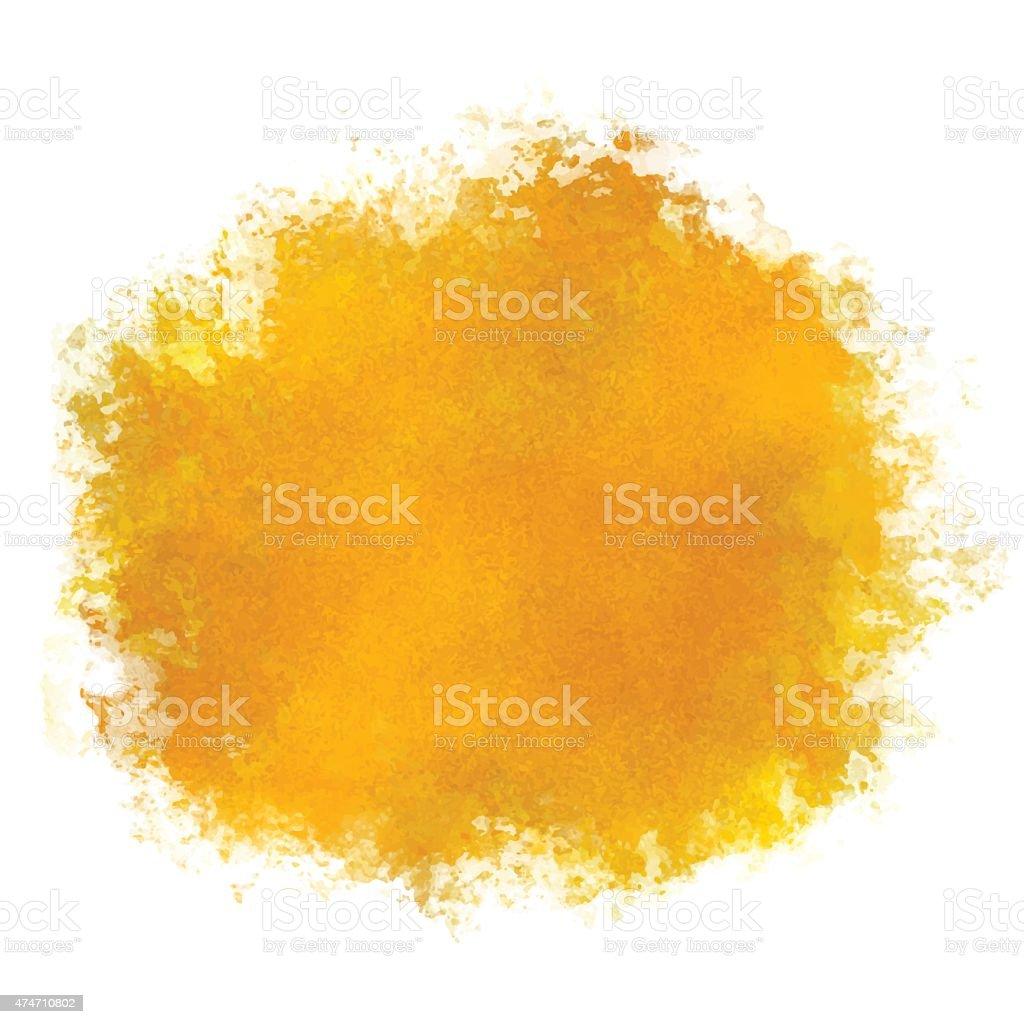Aquarell Gelbe Farbefärbung Stock Vektor Art und mehr Bilder von ...