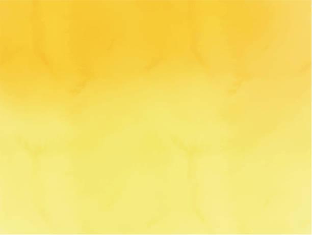 수채화 오렌지 노란색 추상 배경 할로윈 - 노랑 stock illustrations