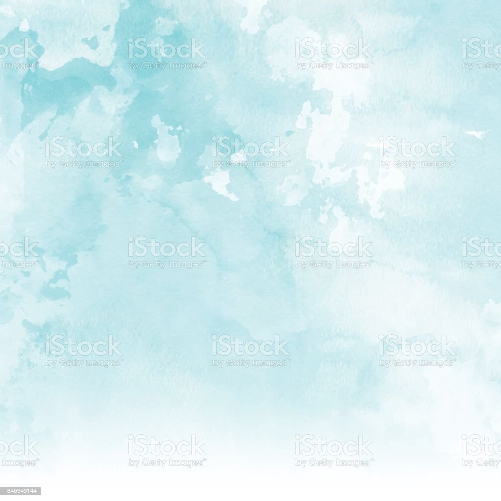 Watercolour texture background vector art illustration