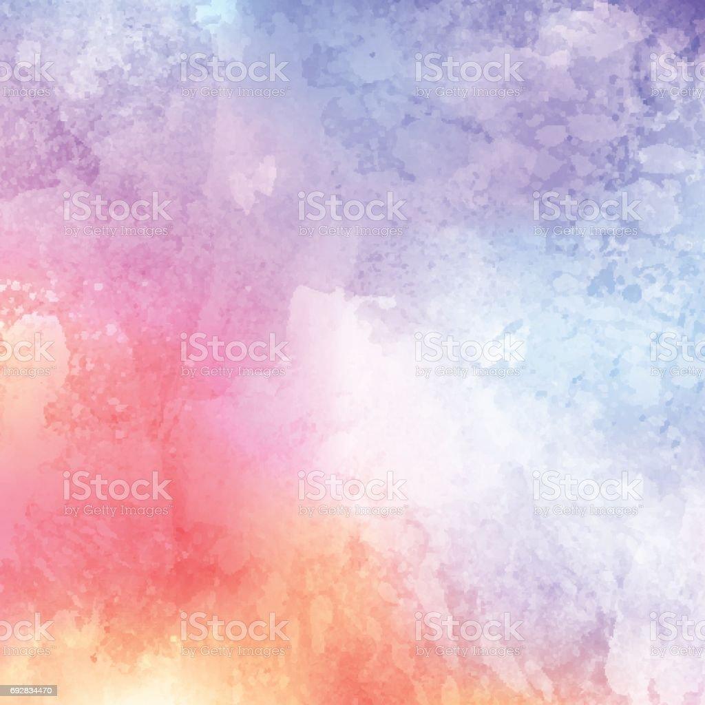 Texturas de acuarela - ilustración de arte vectorial