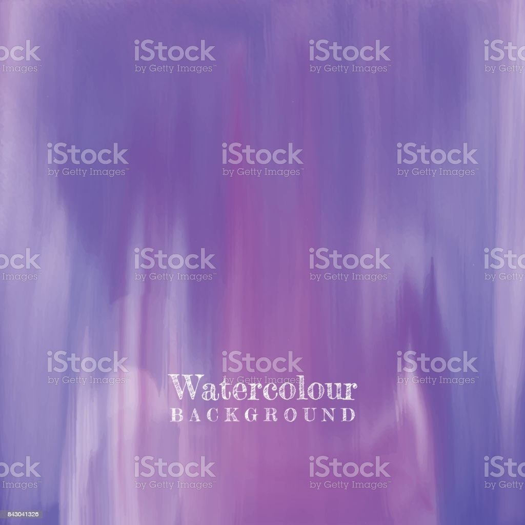 Watercolour texture vector art illustration