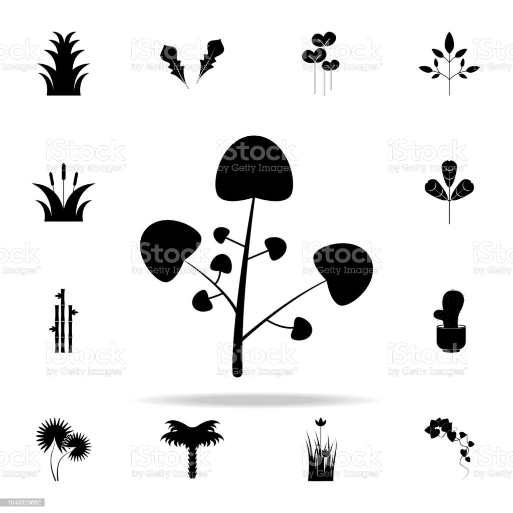 watercress icon. Plants icons universal set for web and mobile vector art illustration