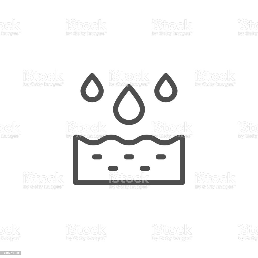 Watering line icon royalty-free watering line icon stock vector art & more images of agriculture