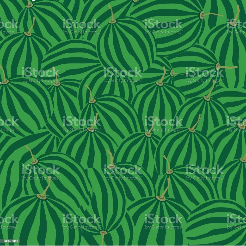 Watermelon background , vector illustration vector art illustration