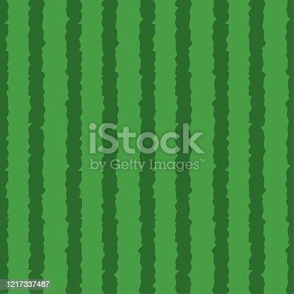 istock Watermelon skin seamless pattern background 1217337487