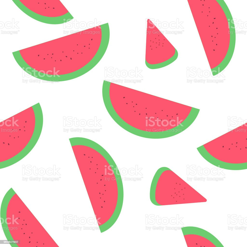watermelon slices vector illustration royalty-free watermelon slices vector illustration stock vector art & more images of cute