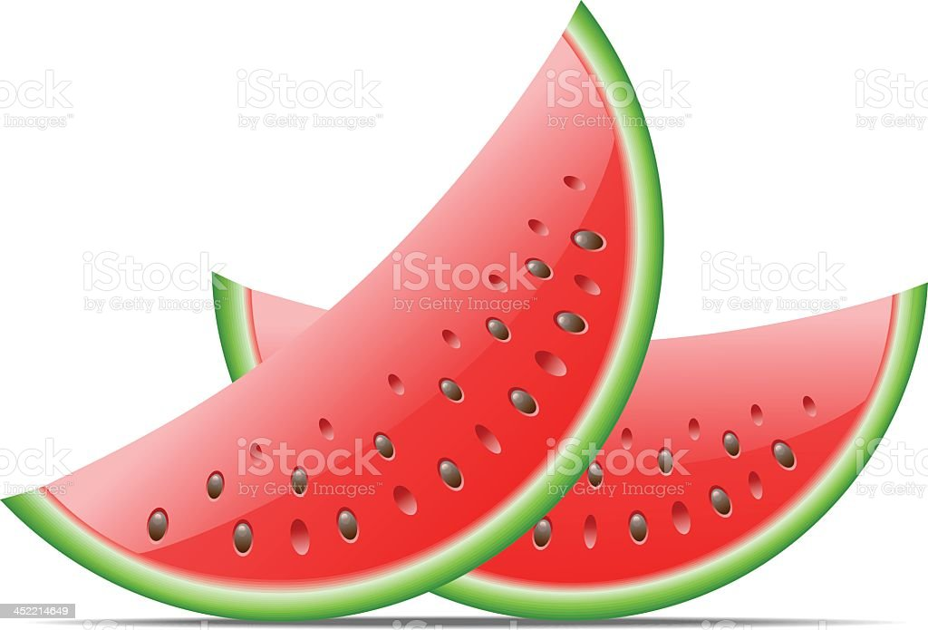 Watermelon royalty-free watermelon stock vector art & more images of cut out