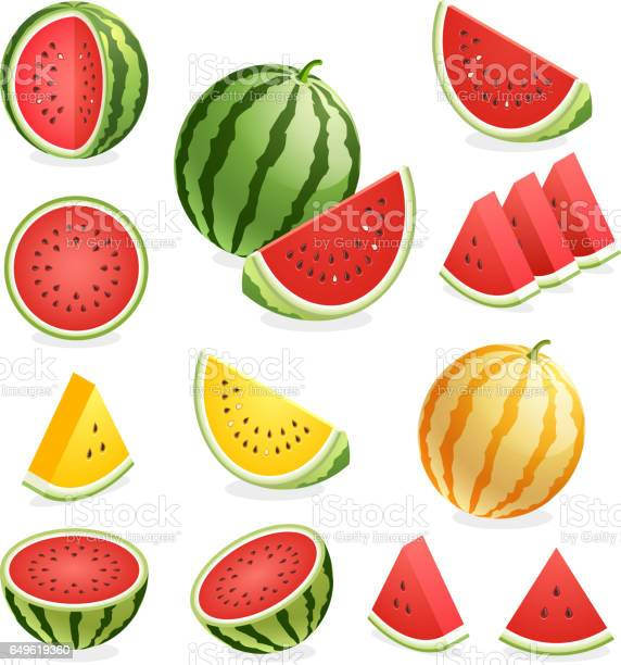Watermelon Stock Illustration - Download Image Now