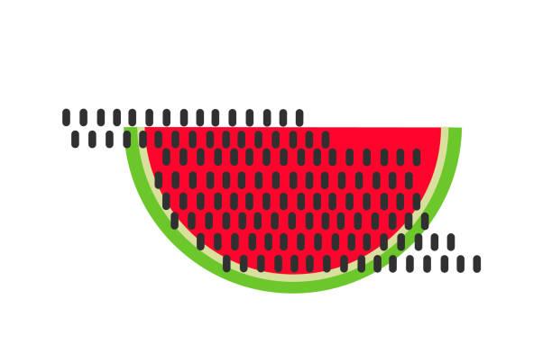 illustrations, cliparts, dessins animés et icônes de vecteur de pastèque. fruits d'été. - cuisine espagnole