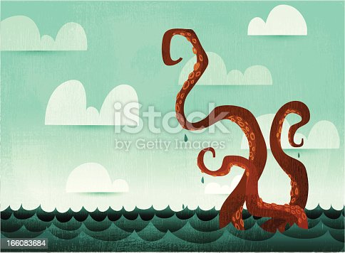 Watery Octopus Tentacles