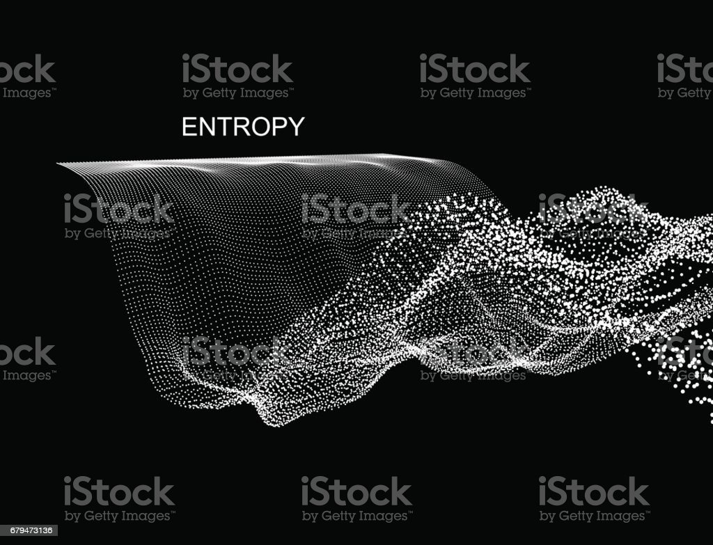 Wave Background. Abstract Vector Illustration. 3D Technology Style. 免版稅 wave background abstract vector illustration 3d technology style 向量插圖及更多 俄羅斯 圖片