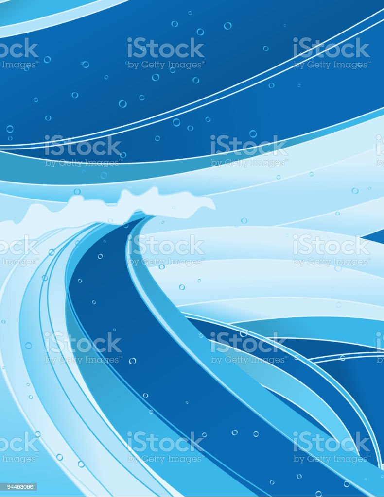 Wave background design royalty-free stock vector art