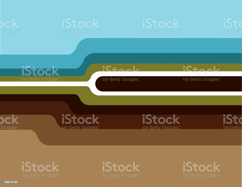 Wave Background royalty-free stock vector art