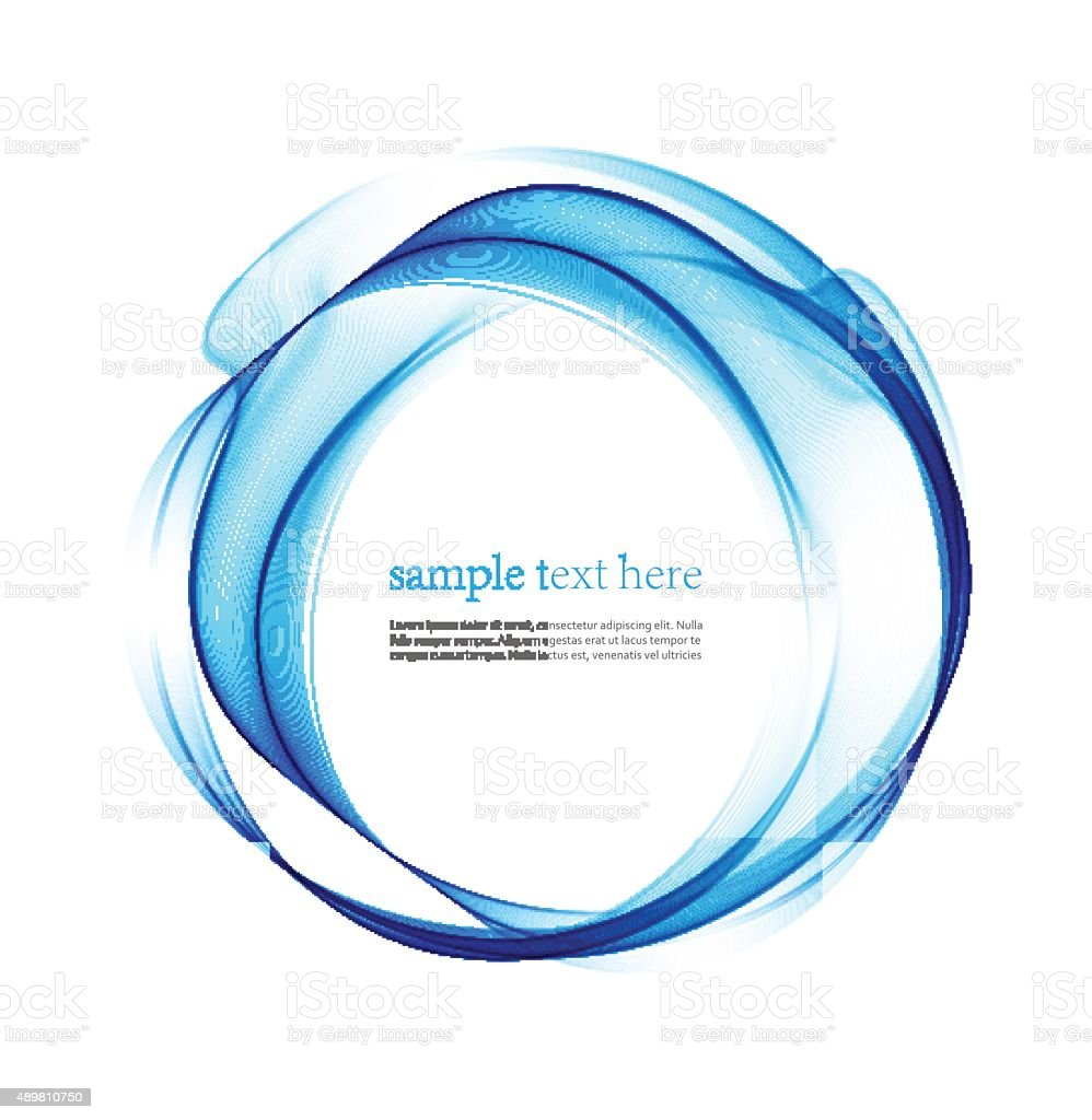 Wave Line Abstract Vector Illustration Stock Art More Freewave Wiring Diagram Royalty Free