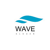 Wave Icon Design Vector