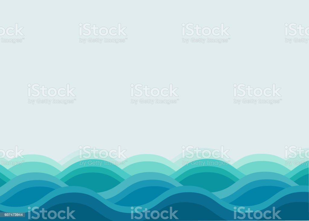 wave ocean background