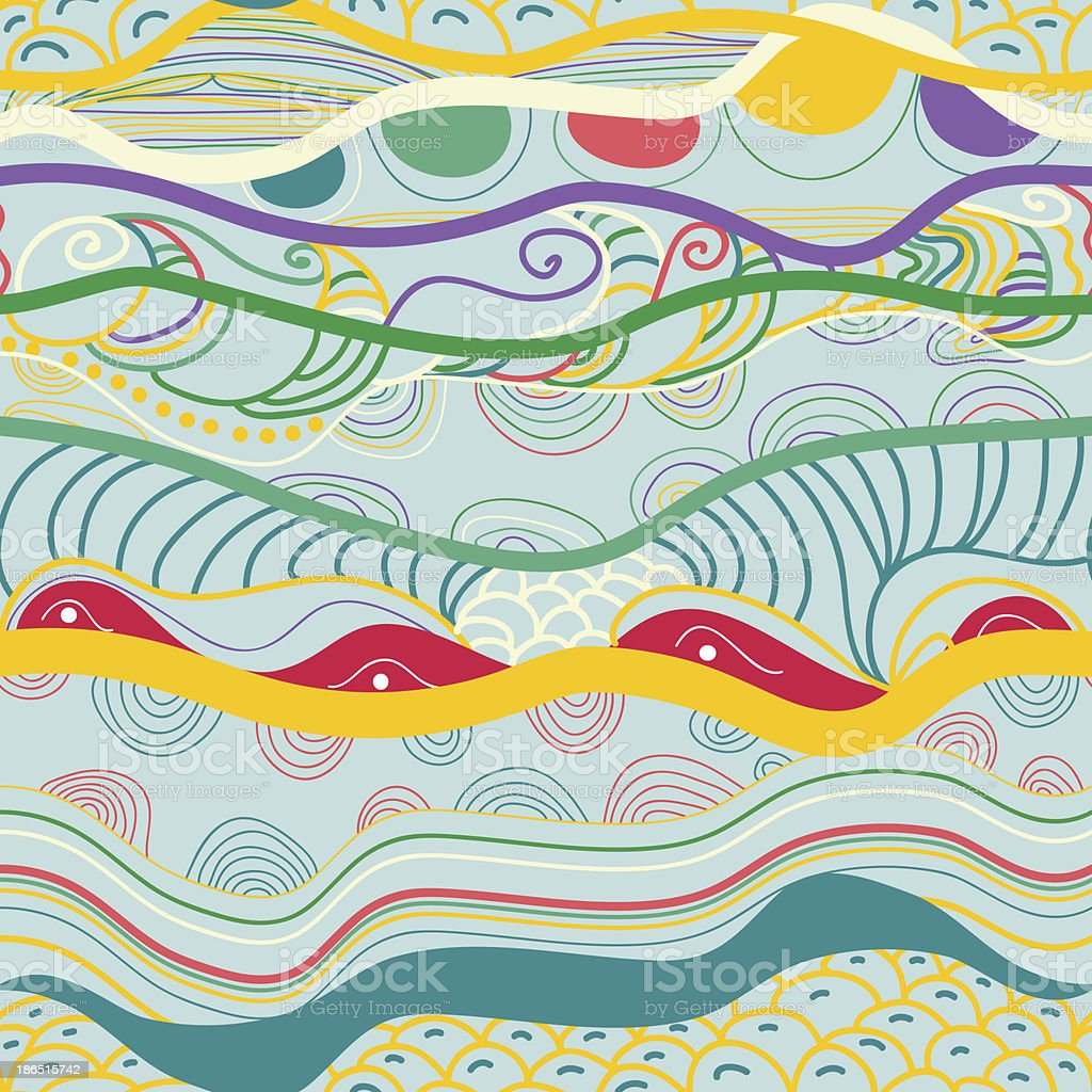 Wave pattern royalty-free wave pattern stock vector art & more images of abstract