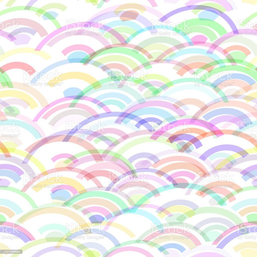 Onde Transparente Motif Abstrait Echelles Simple Nature Fond