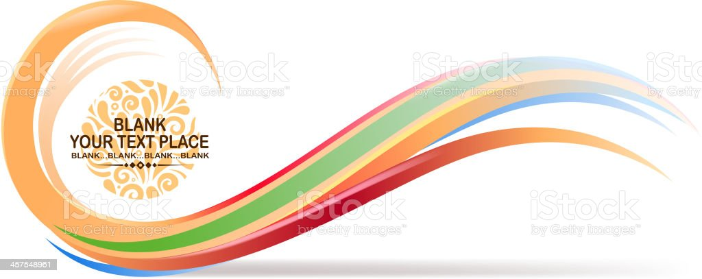 wave sign royalty-free stock vector art