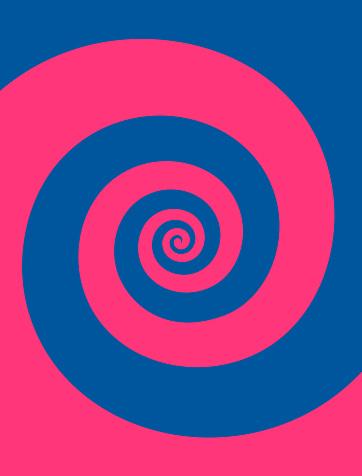 Wave Spiral Background