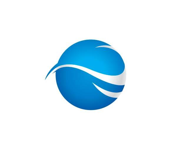 wave-welt-vektor-ikone - segeln stock-grafiken, -clipart, -cartoons und -symbole