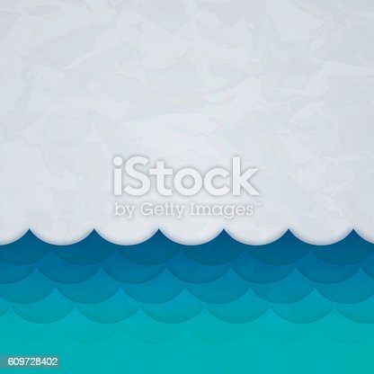 Ocean waves textured background with space for your copy.