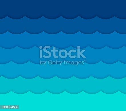 istock Waves Background 860324562