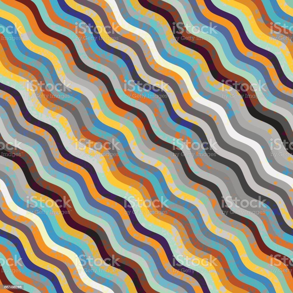 Waves nautical pattern waves nautical pattern - immagini vettoriali stock e altre immagini di arte, cultura e spettacolo royalty-free