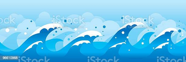 Волны — стоковая векторная графика и другие изображения на тему Волна