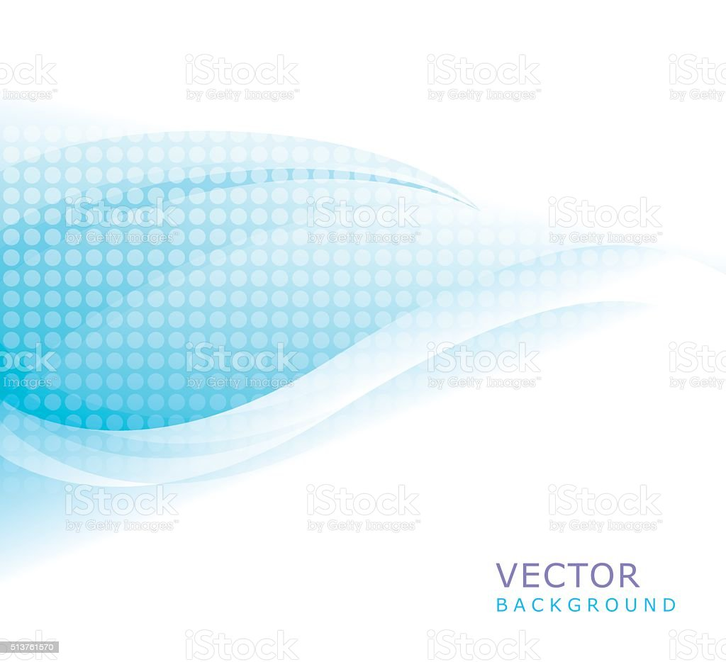 Waving Background vector art illustration