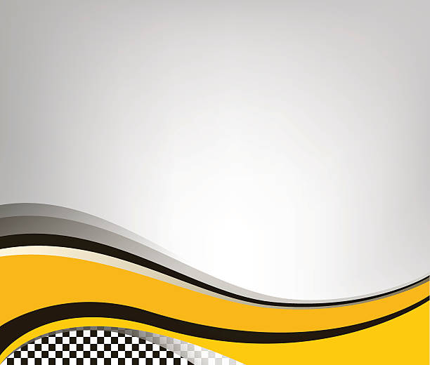 waving checkered flag grey background - race stock illustrations