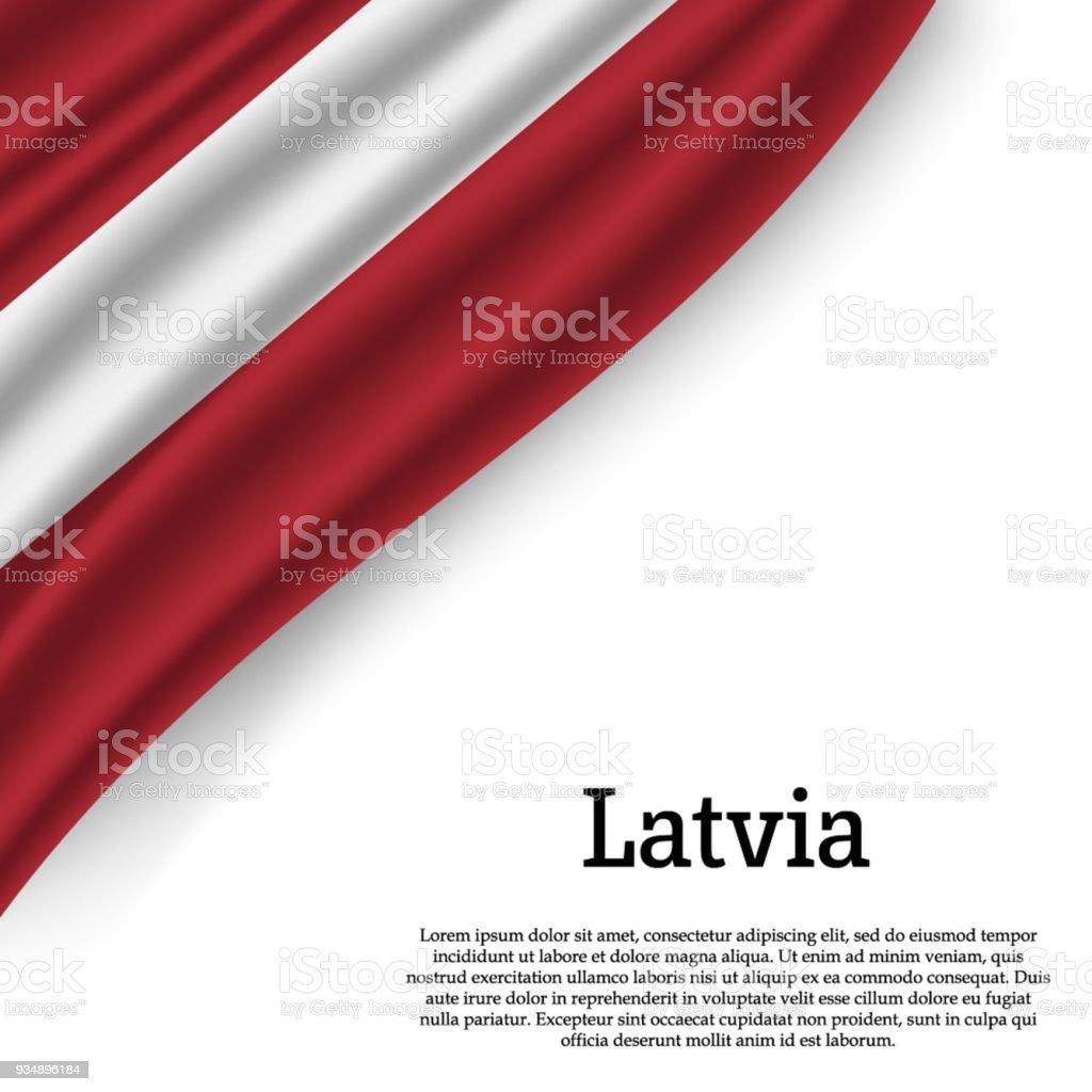 ilustração de bandeira da letónia e mais banco de imagens de