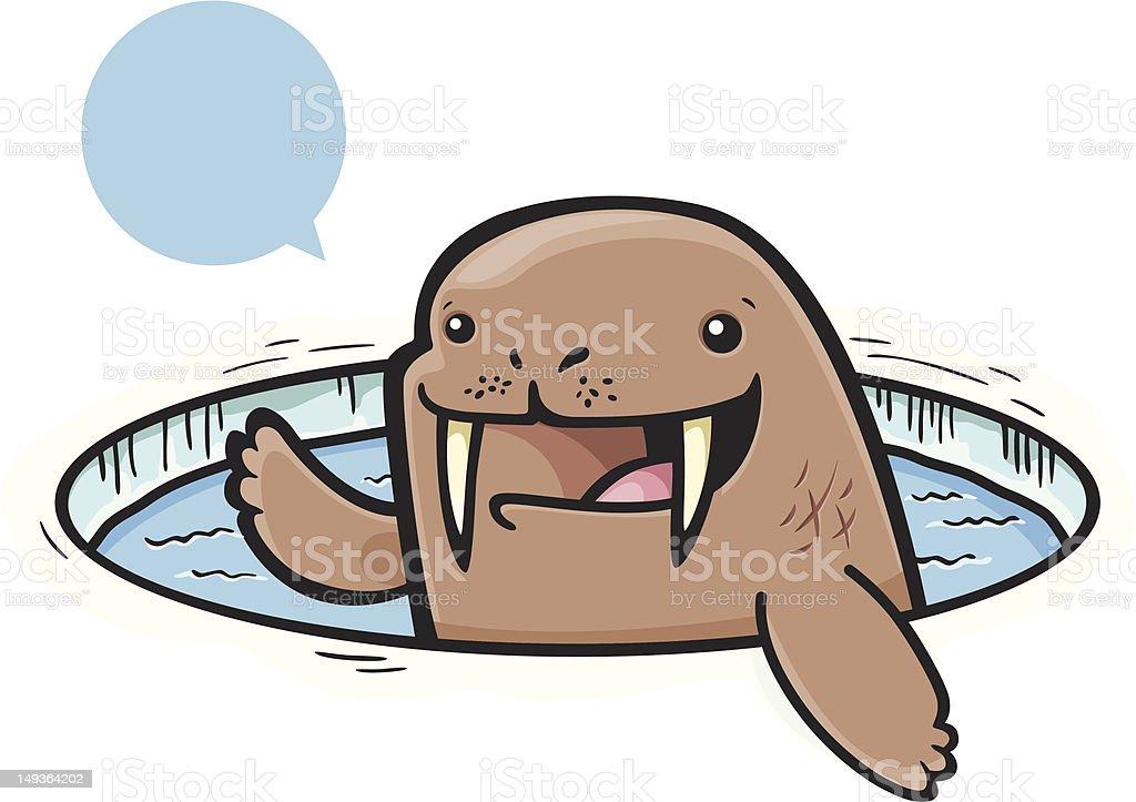 Waving Walrus royalty-free waving walrus stock vector art & more images of arctic