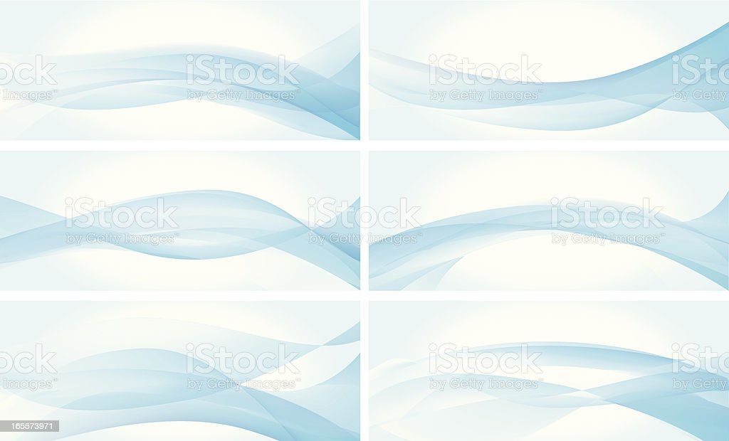 wavy backgrouds vector art illustration