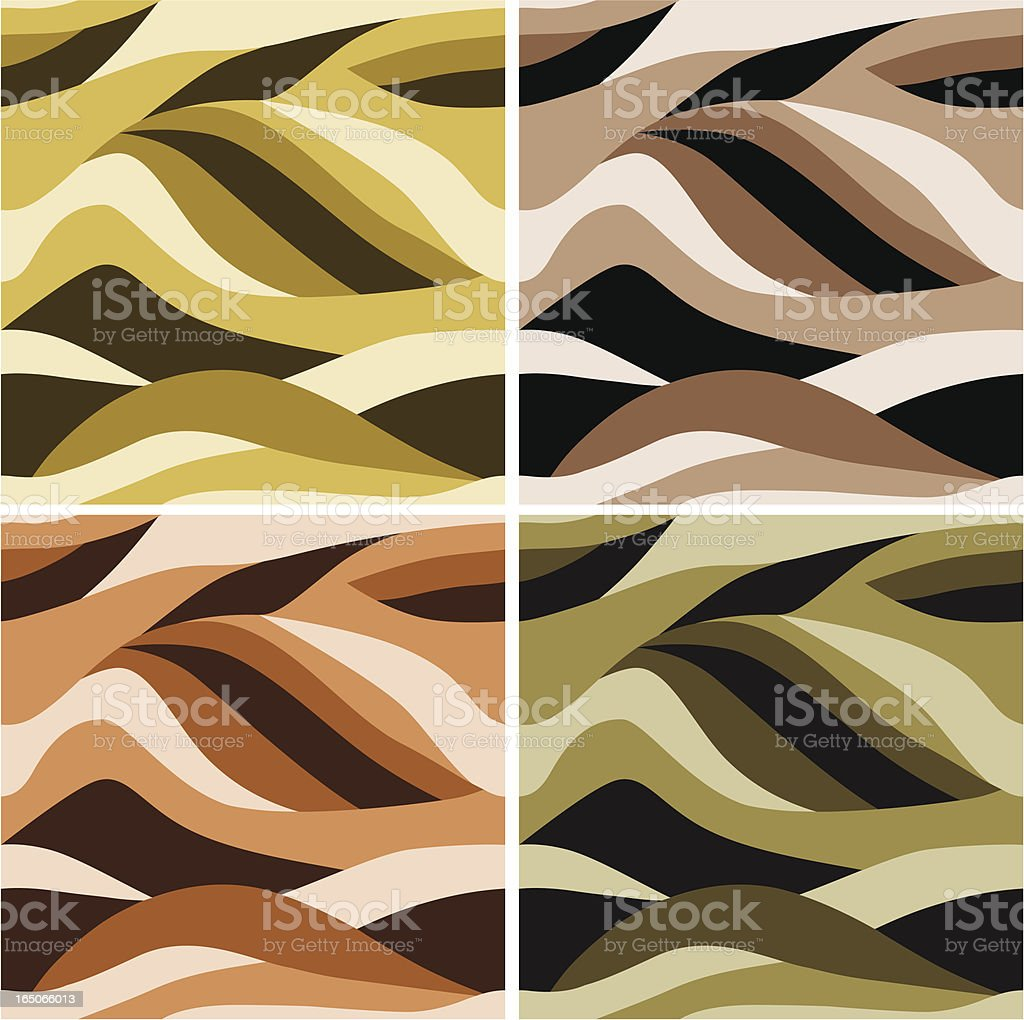 Wavy pattern. royalty-free wavy pattern stock vector art & more images of animal body part