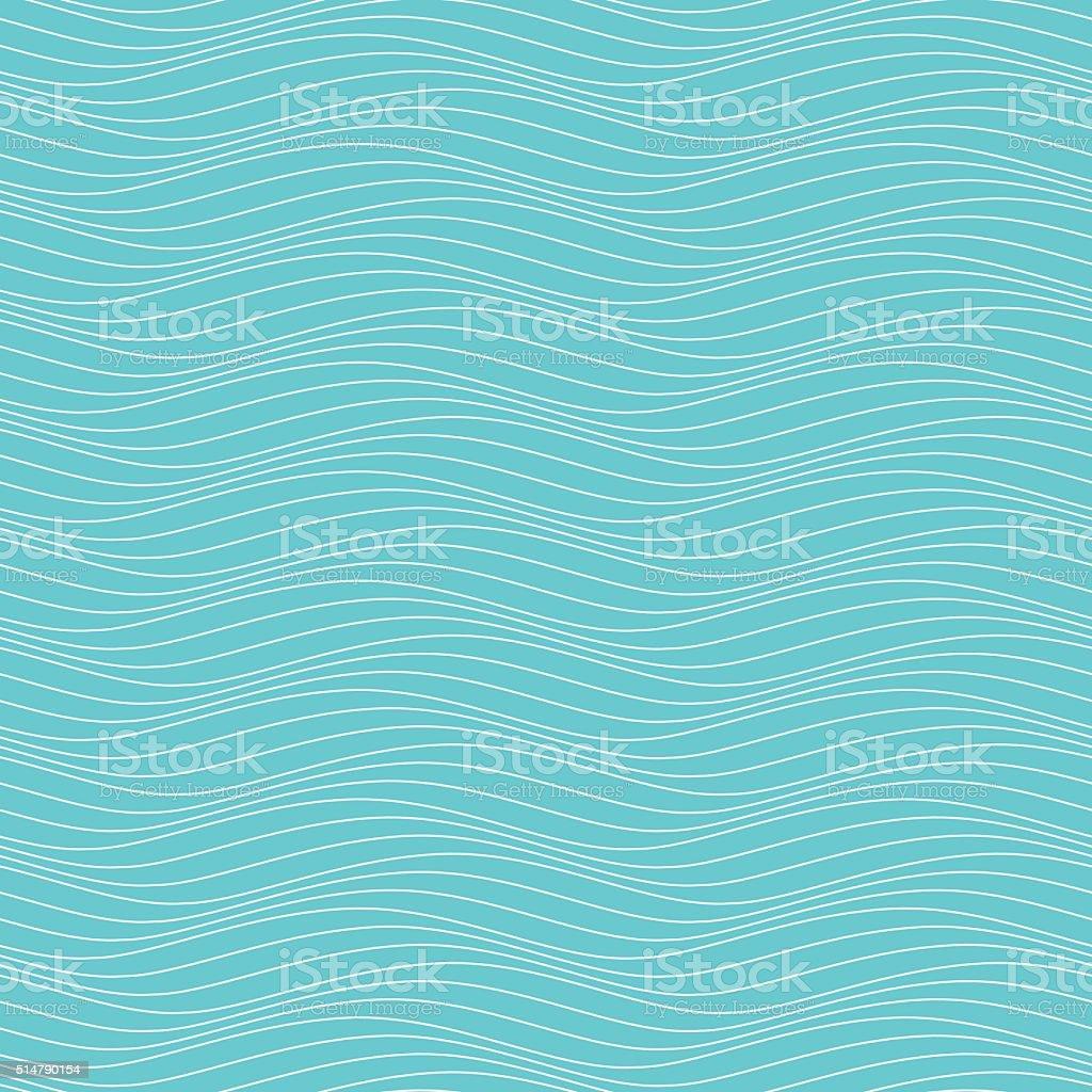 wavy pattern vector art illustration