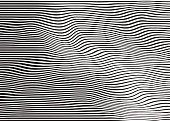 Rippled halftone pattern technology background