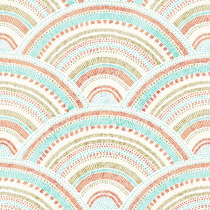 Wavy seamless pattern.
