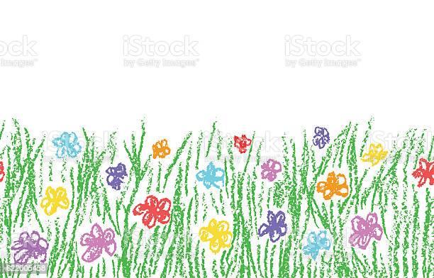 Wax crayon hand drawn green grass with color flower vector id622005458?b=1&k=6&m=622005458&s=612x612&h=qegzsusmruge4gy9wa4vrwcm3r30ecnag8xdimevdrg=