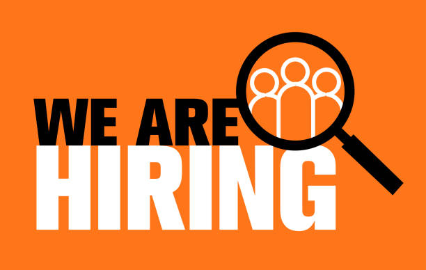 we are hiring, choosing the talented person for hiring, vector illustration we are hiring, choosing the talented person for hiring, vector illustration, we are hiring, choosing the talented person for hiring, vector illustration recruiter stock illustrations