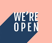 istock We are open poster 1227224869