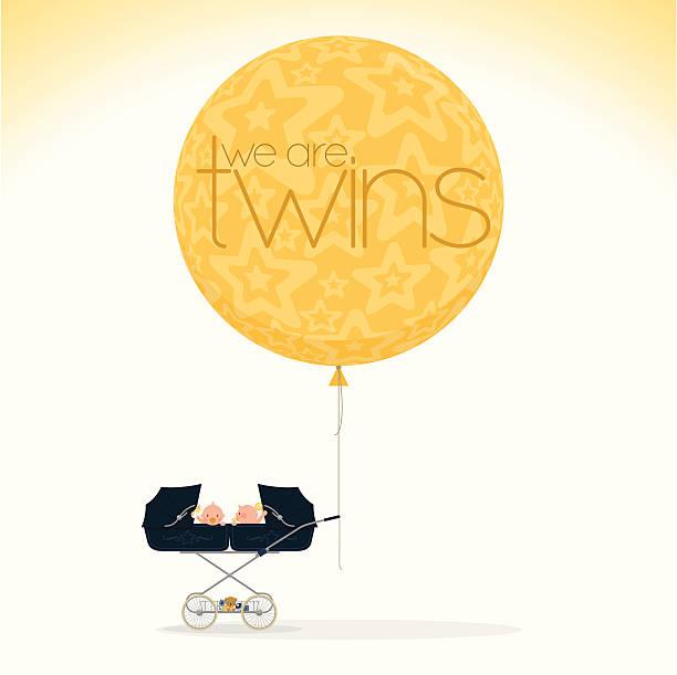 we are twins http://i681.photobucket.com/albums/vv179/myistock/nb.jpg it's a girl stock illustrations