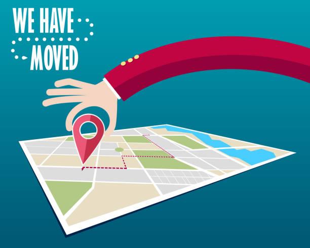 ilustrações, clipart, desenhos animados e ícones de nós mudamos, mudou de endereço - casa nova