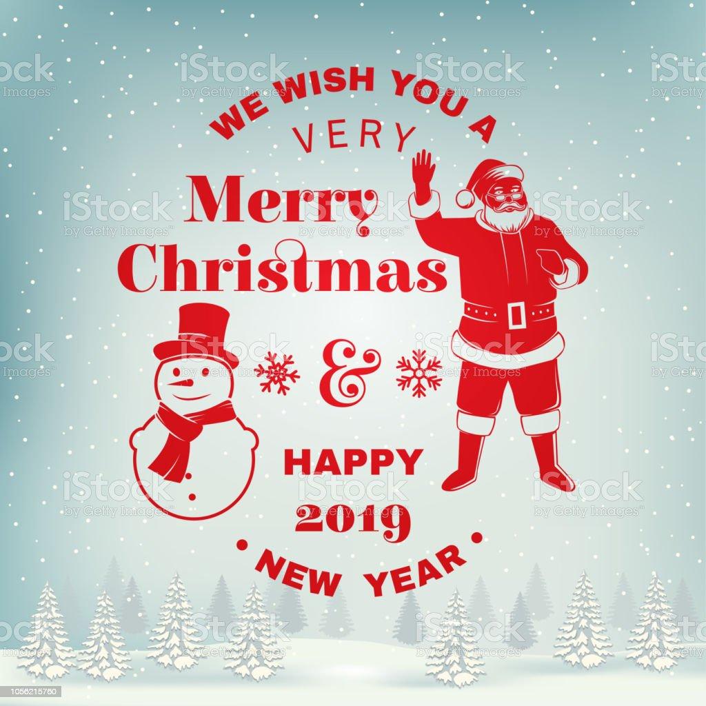 Wir Wünschen Ihnen Einen Sehr Frohe Weihnachten Und Happy New ...
