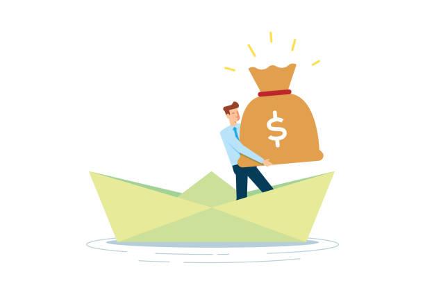 Wealth Wealth bonus march stock illustrations