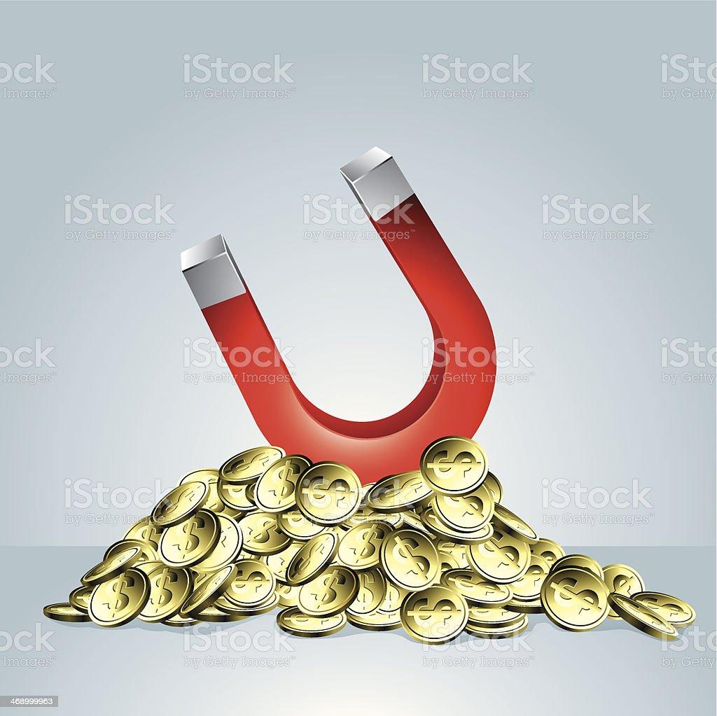 Wealth vector art illustration