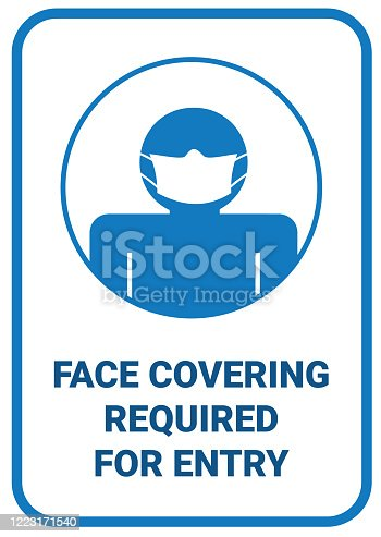 Infographic design people wear face covering to protect themselves from virus spreading