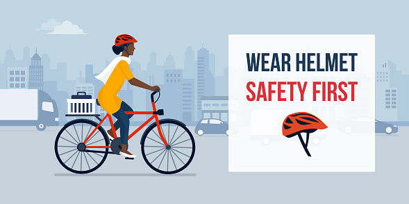 Wear helmet for your safety